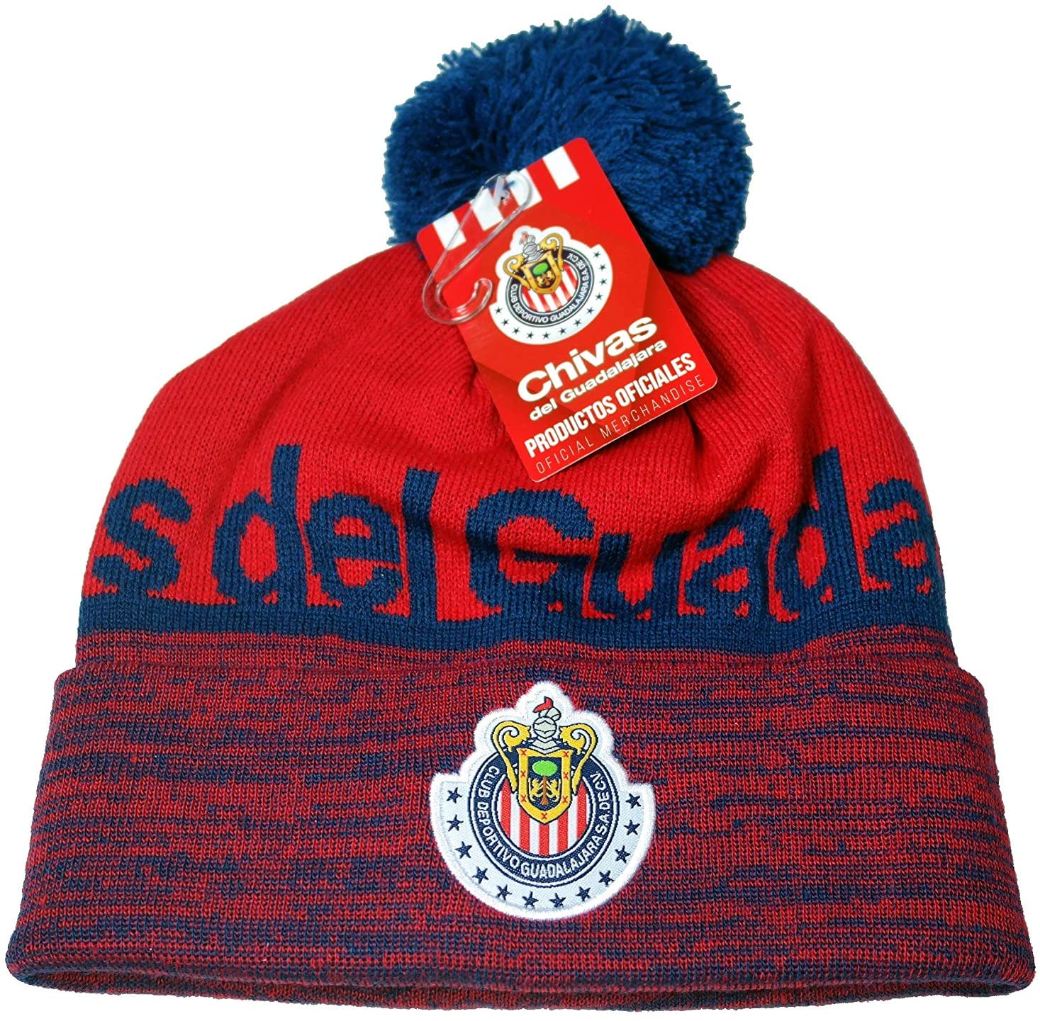 Chivas De Guadalajara Authentic Official Licensed Soccer Beanie
