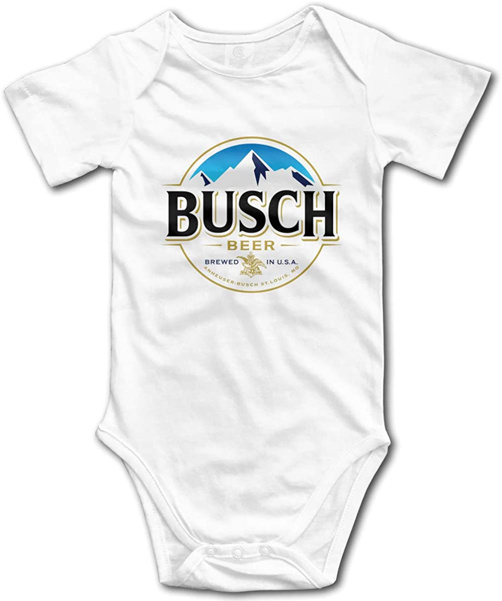 NOT Busch Beer Soft Boy Girl Baby Onesies Baby Bodysuit Baby Onesie Bodysuit Comfortable Tee