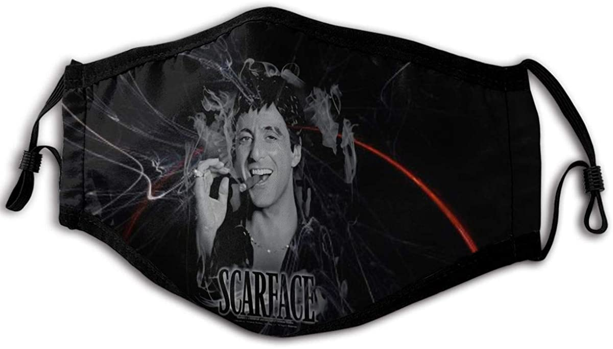 Scarface Opportunity Unisex Dust Anti Windproof Mouth Face Washable Scarf