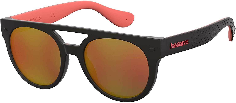 Sunglasses Havaianas Buzios 0U4Q Bkgrecorb/Uw Orange Flash Ml