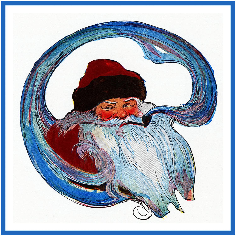 Orenco Originals Santa Father Christmas by Jessie Willcox Smith Counted Cross Stitch Pattern