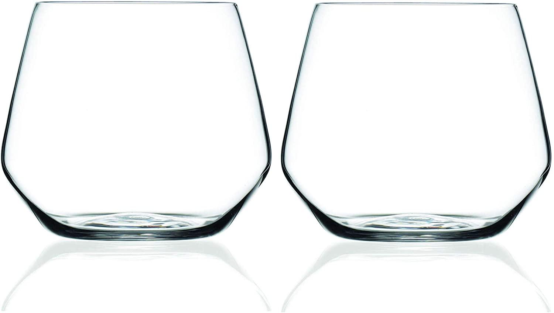 MasterPro Q3566 Set of 2 Water Glasses 38 cl Bergner Barware Collection