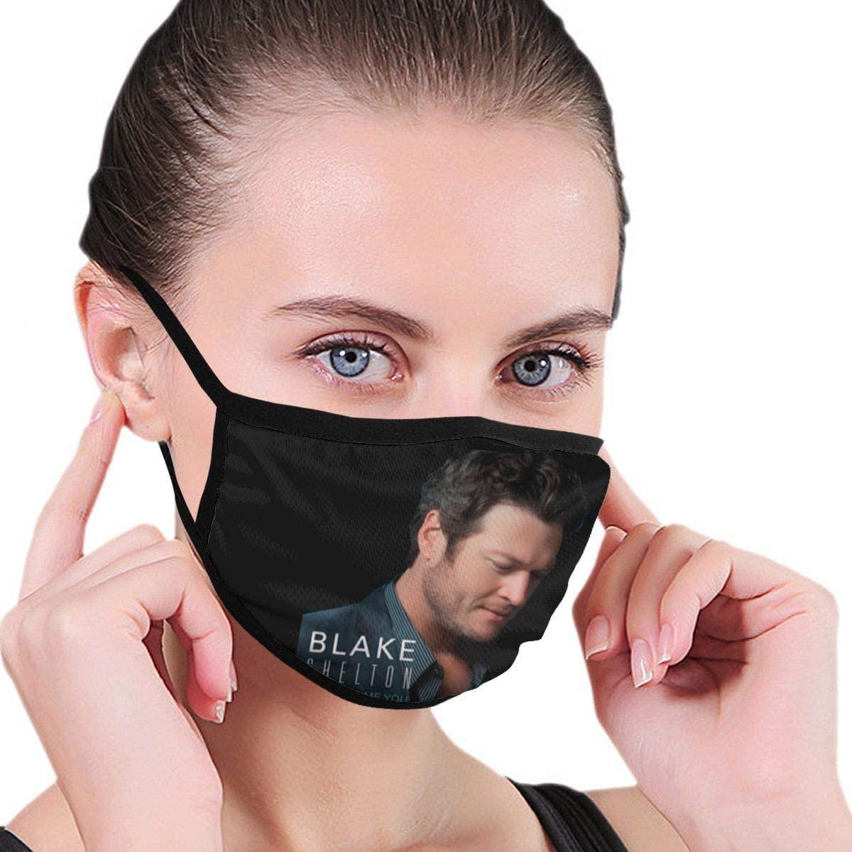 Blake Shelton God Gave Me You Unisex Fashion Face Bandanas Head Band Wears Scarf Face Tube Neck Scarf