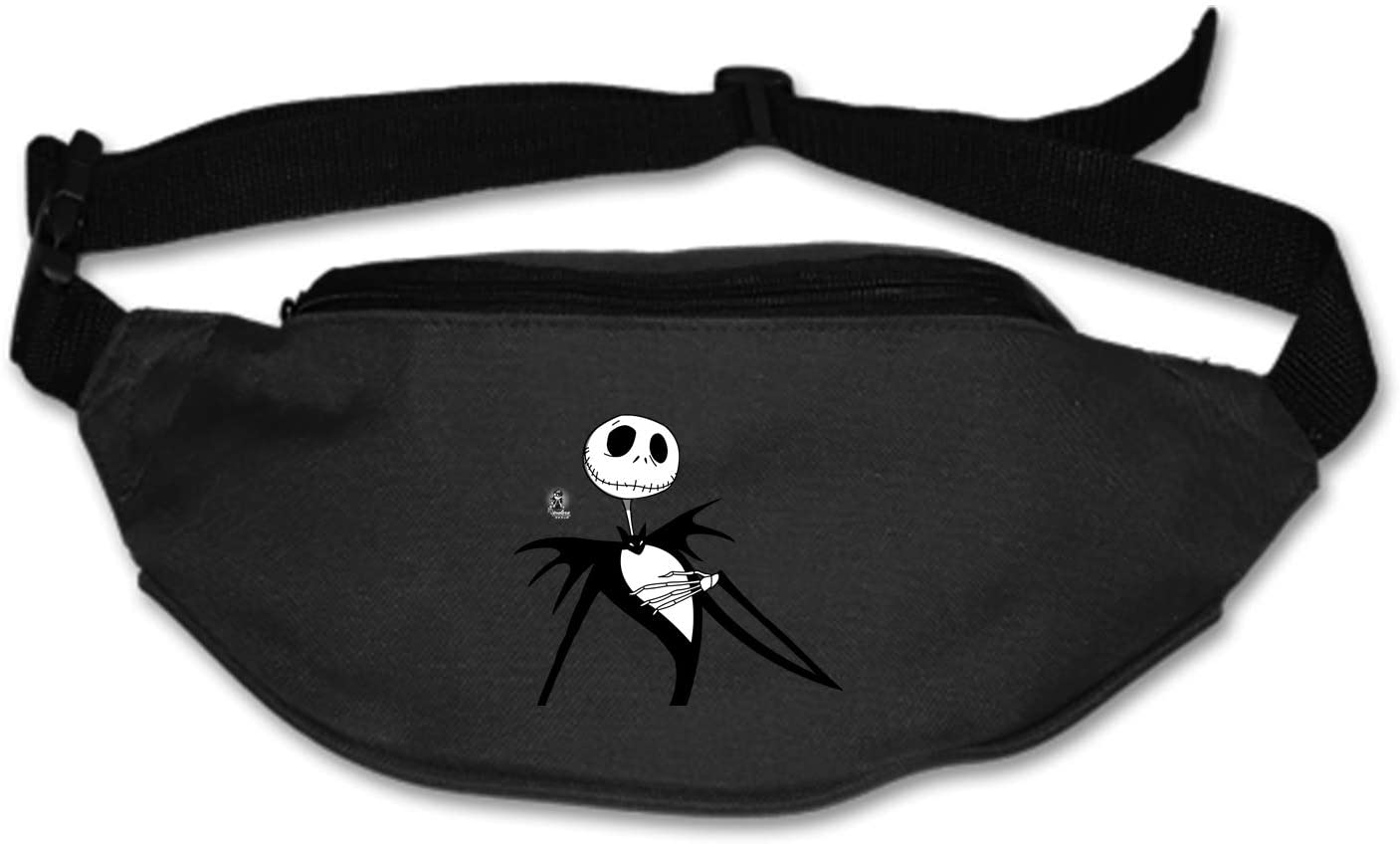 AyxjlSv Nightmare Before Christmas King Waist Bag Fanny Pack/Hip Pack Bum Bag for Man Women Sports Travel Running Hiking/Money iPhone 6/7 6S/7S Plus Samsung S5/S6