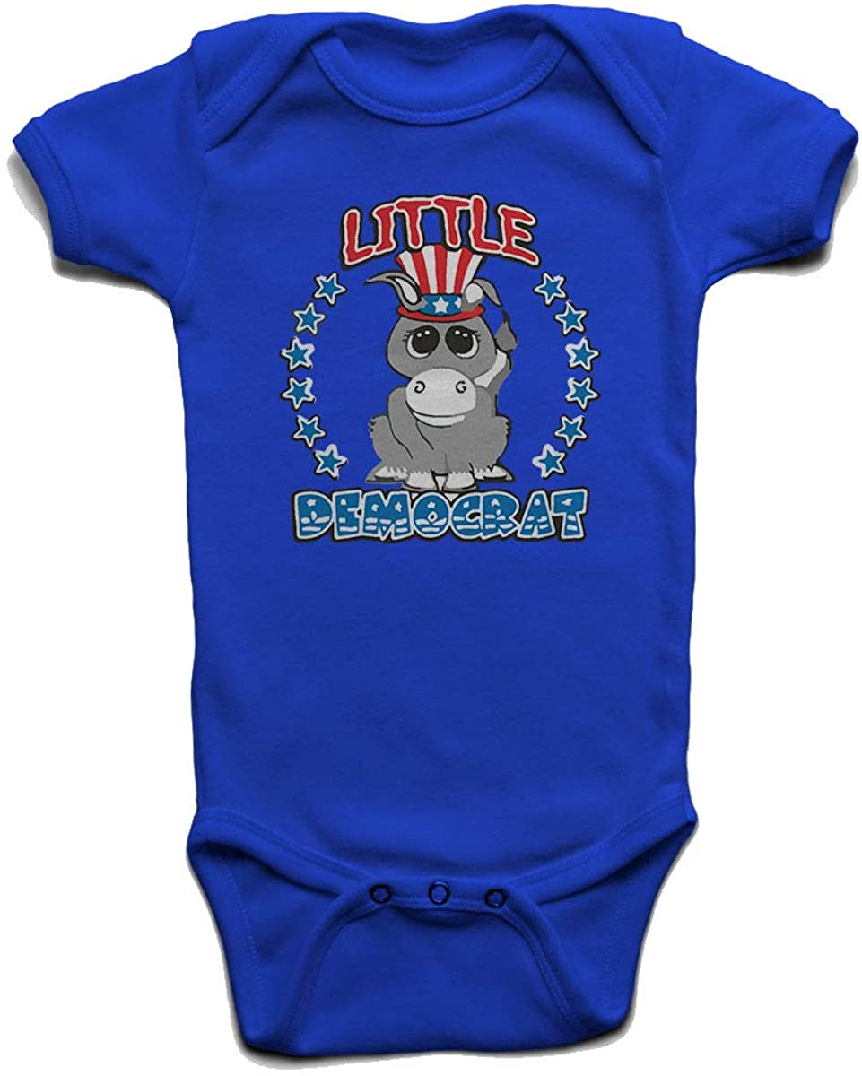 Custom Tshirts and Hats Little Democrat Baby Boys Girls Onesie