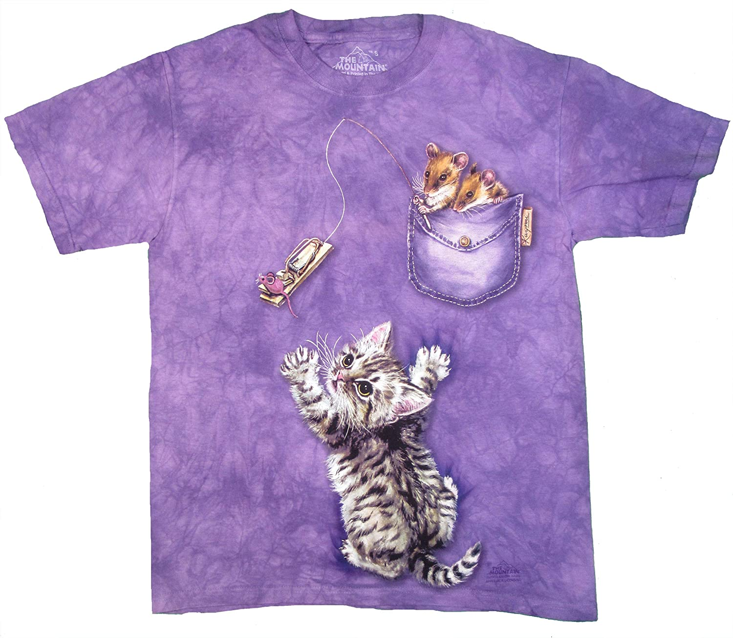 The Mountain Men's Trapped Mouse Cat T-Shirt