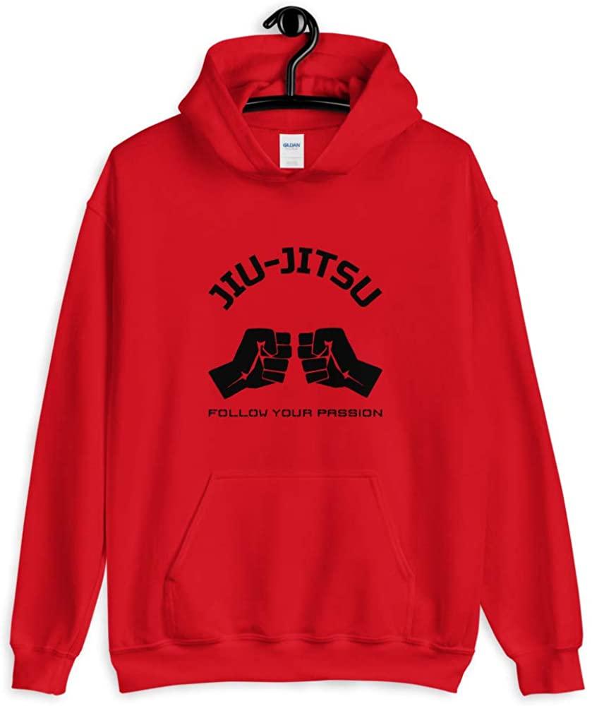 BRED & BUTTER Jiu-Jitsu Unisex Hoodie Red