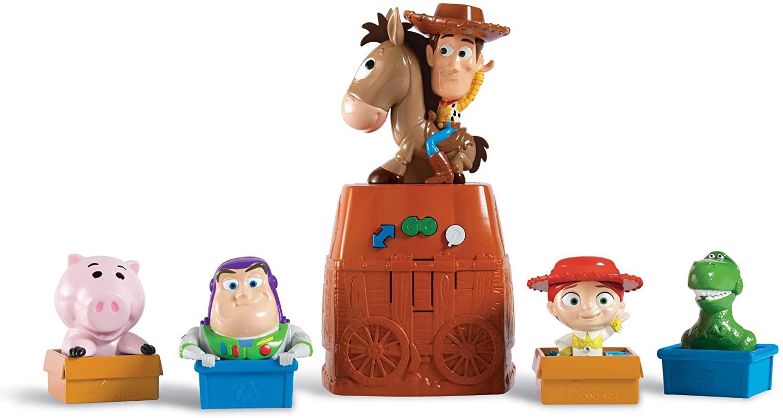 Toy Story 3 Woody's Run Around Round Up Game