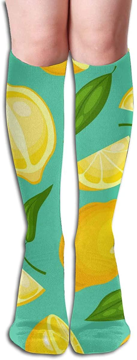 Custom Women's Knee Socks Chevron Prismatic Girls Long High Knee Stocking One Size Soft & Breathable