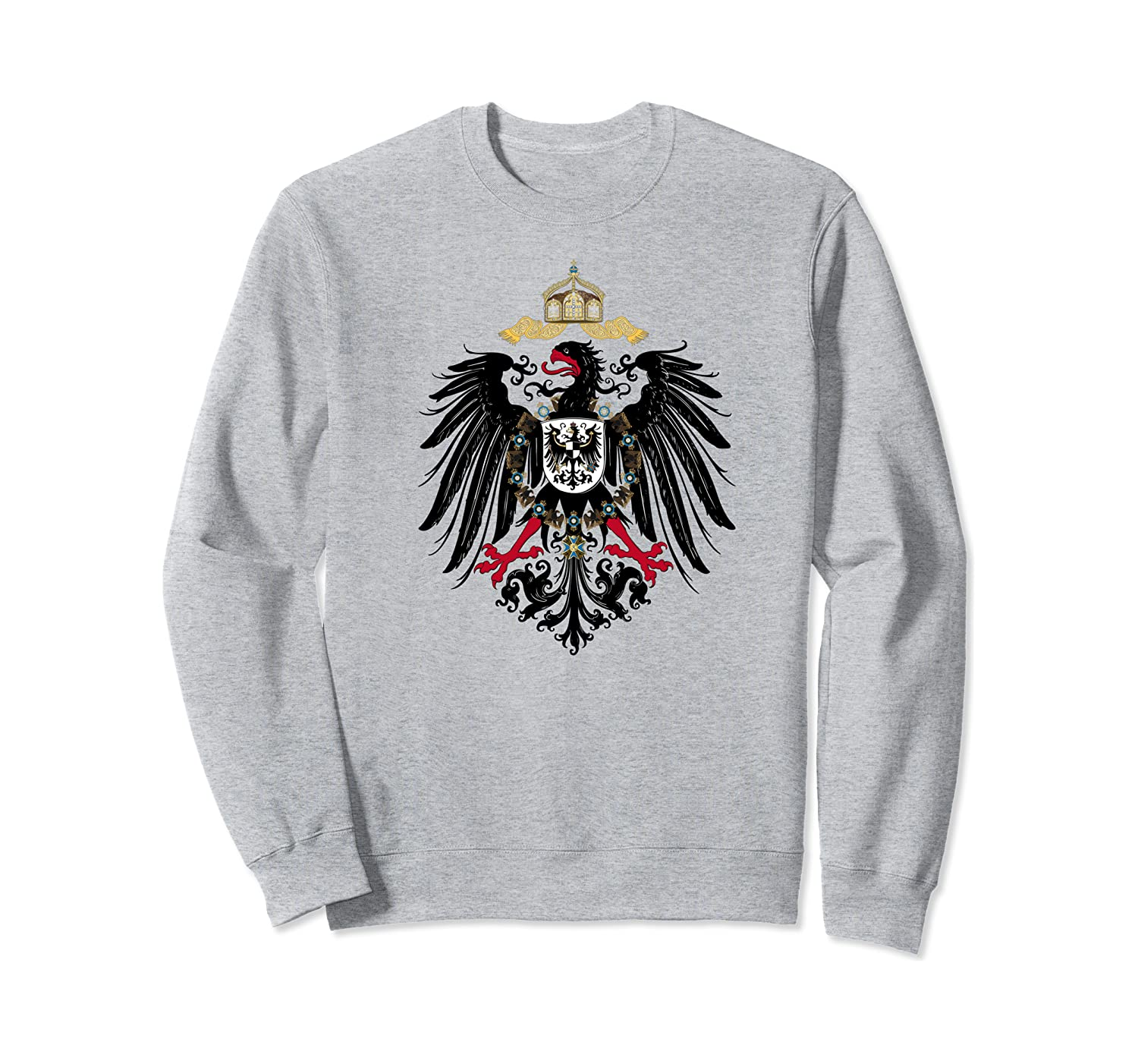 Flag of Prussia T-Shirt Prussian German Germany Graphic Tee Sweatshirt