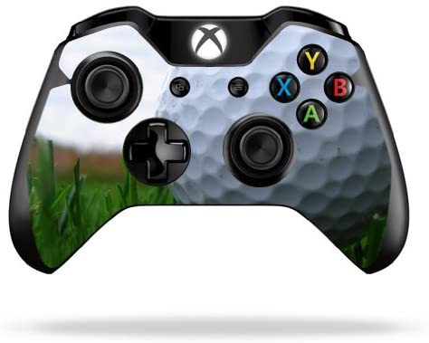 MightySkins Skin Compatible with Microsoft Xbox One or One S Controller - Golf | Protective, Durable, and Unique Vinyl Decal wrap Cover | Easy to Apply, Remove, and Change Styles | Made in The USA