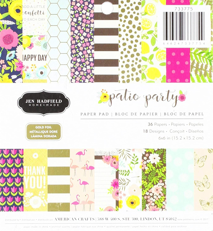 Jen Hadfield pad Patterned Paper, Multicolor