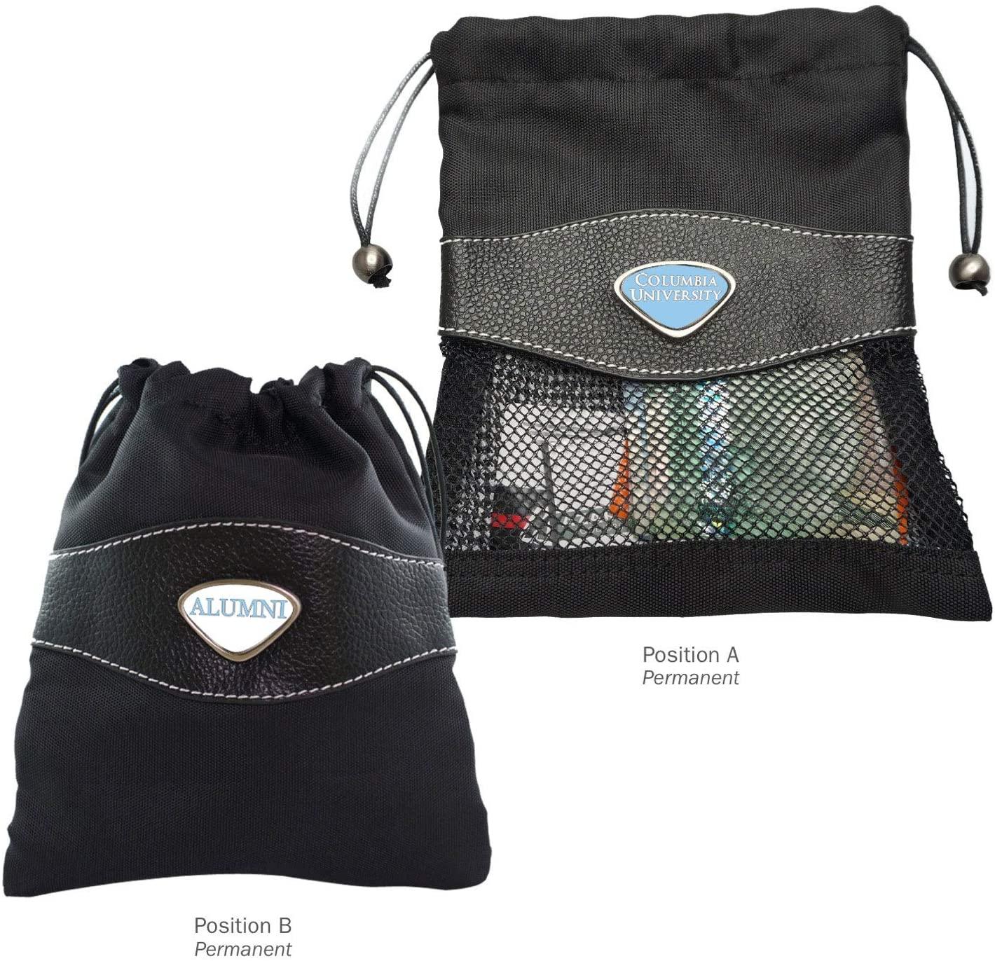 AdSpec NCAA Columbia Lions Collegiate Valuables BagCollegiate Valuables Bag, Black, One Size
