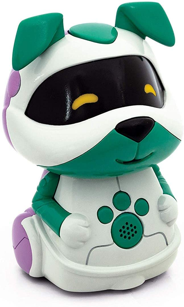Clementoni Pet Bits Dog, Interactive Collectable Toy Robots for Ages 4 and Up