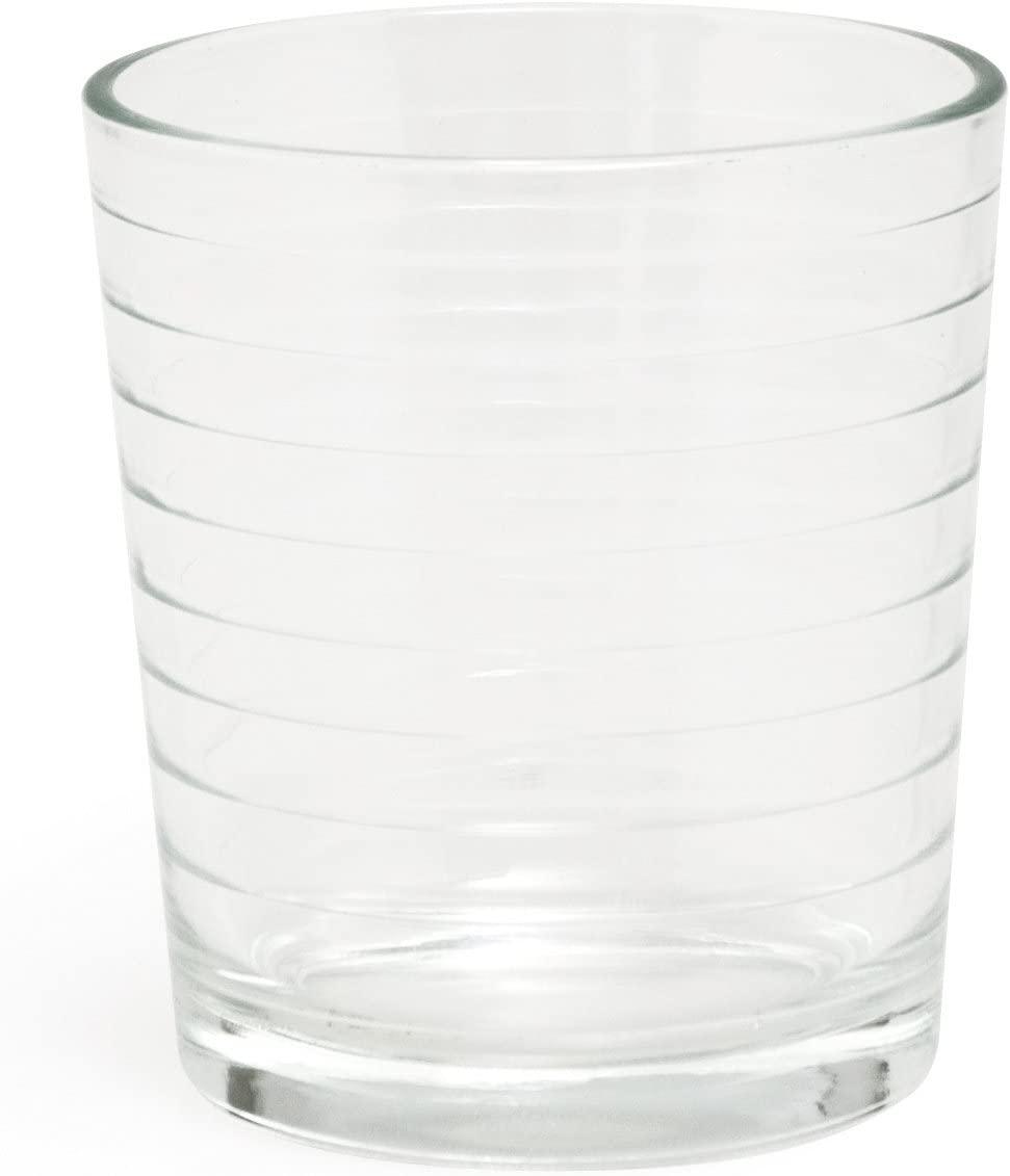 Excelsa Set of 6 RomaGlasses, 26 cl Each, Clear Glass, 7.5x 7.5x 8.69cm