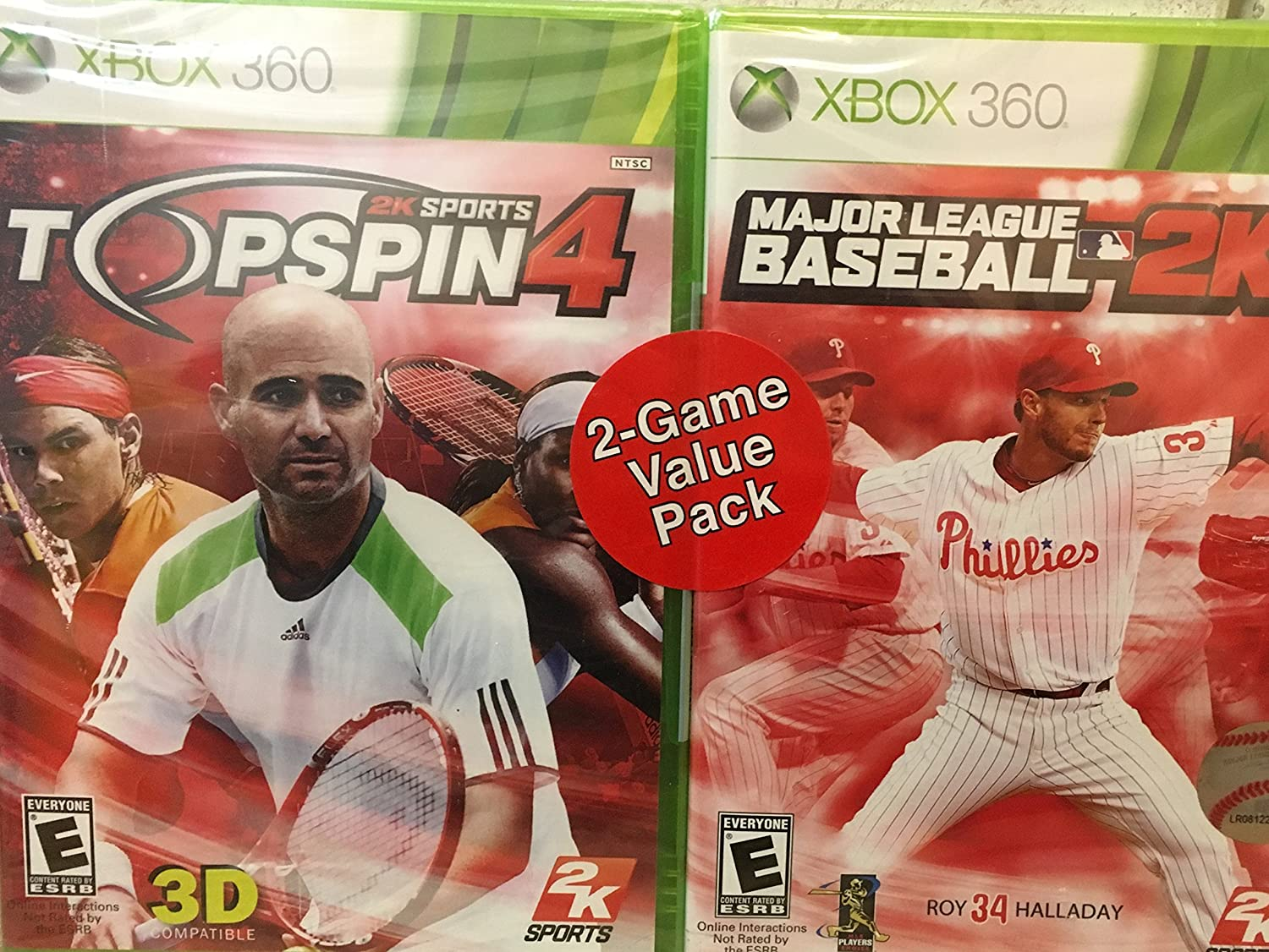 Sports Value Pack: Top Spin 4 and MLB 2K11 Bundle - Xbox 360
