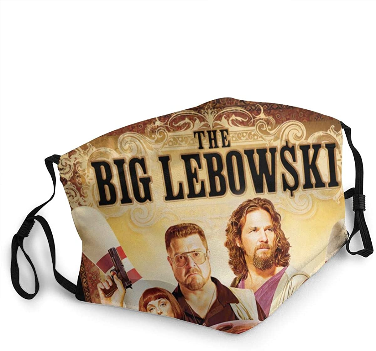 The Big Lebowski Washable Reusable Unisex Breathable Adult Dust Face Mouth Cloth Balaclava (Multiple Outfits)