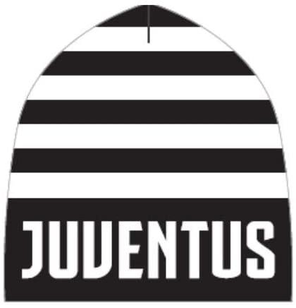 Juventus Black & White Striped Beanie