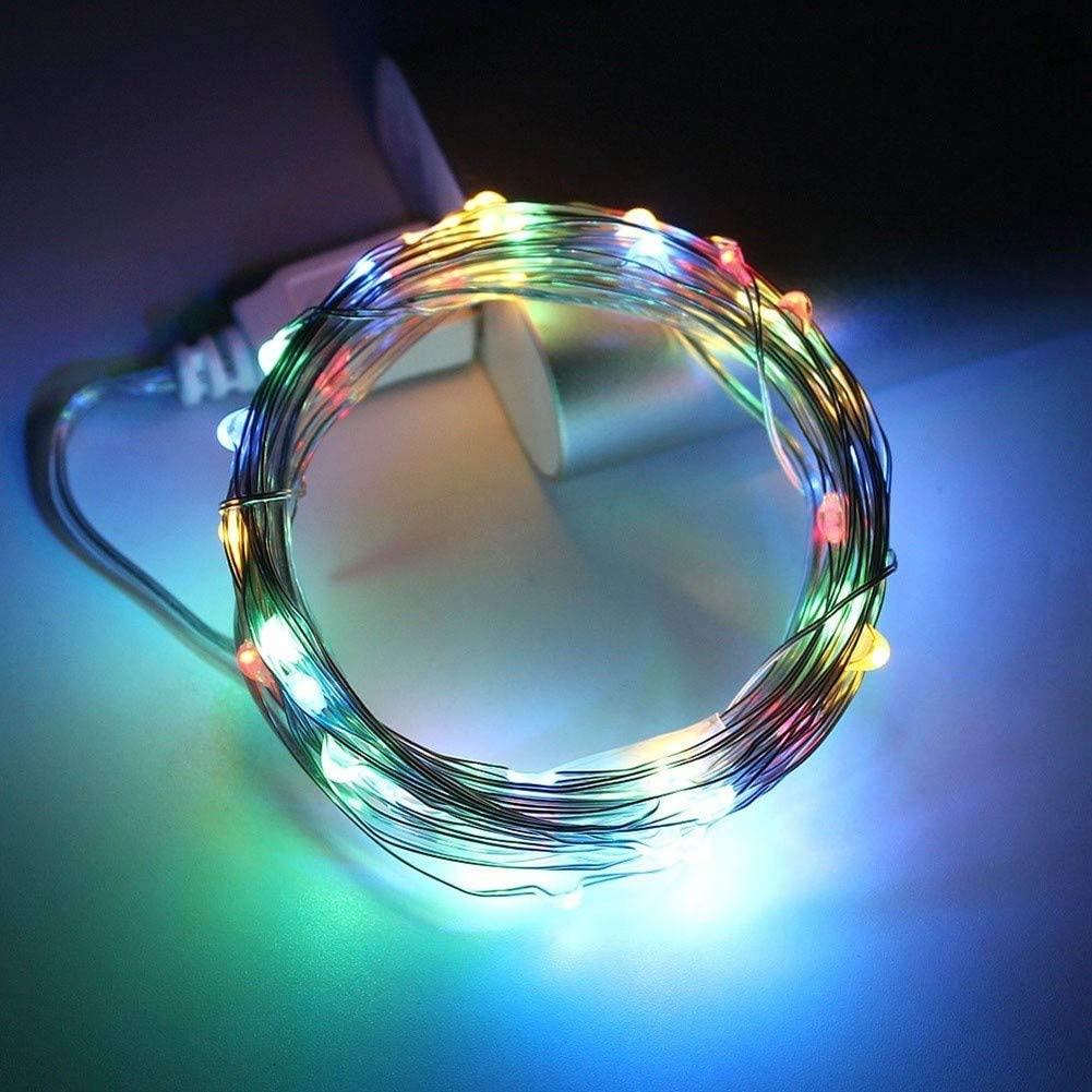 JELO Premium Led Strip Lights, Led Strip Lights with Remote String Lamp Flexible Led Strip Lights for Bedroom Professional & Upgraded (Color : RGB, Size : 2m)