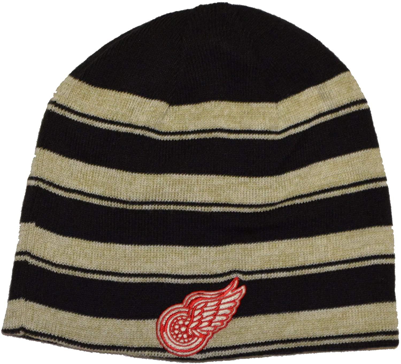 American Needle Classic Cuffless Beanie Hat - NHL Winter Knit Skull Toque Cap