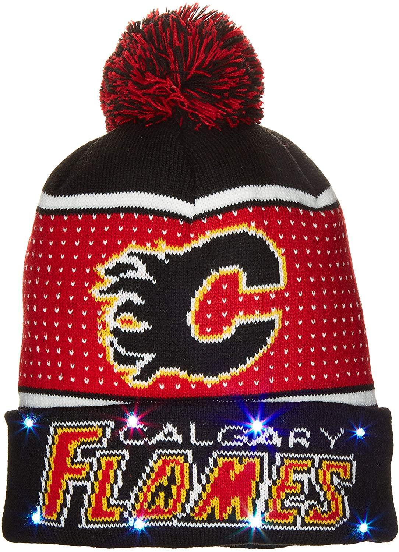 FOCO NHL Big Logo Knit Light Up Beenie (2018 Edition)