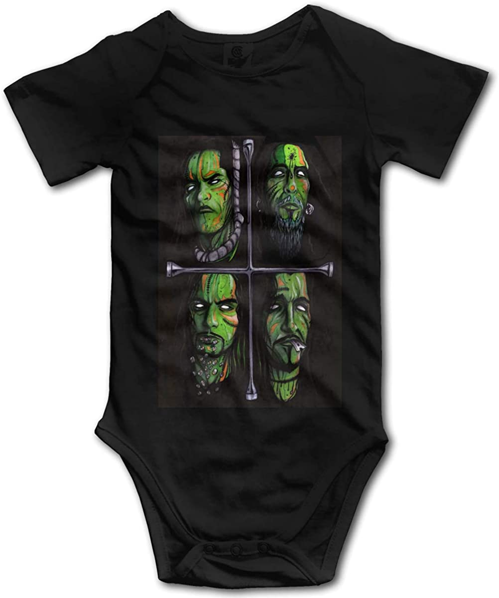Type O Negative Bodysuits Baby Cotton Bodysuits Soft Short Sleeve Baby Onesies 0-3m