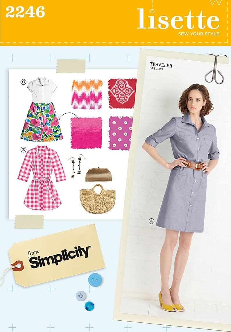 Simplicity Sewing Pattern 2246 Misses' and Miss Petite Sportswear, Size R5 (14-16-18-20-22)