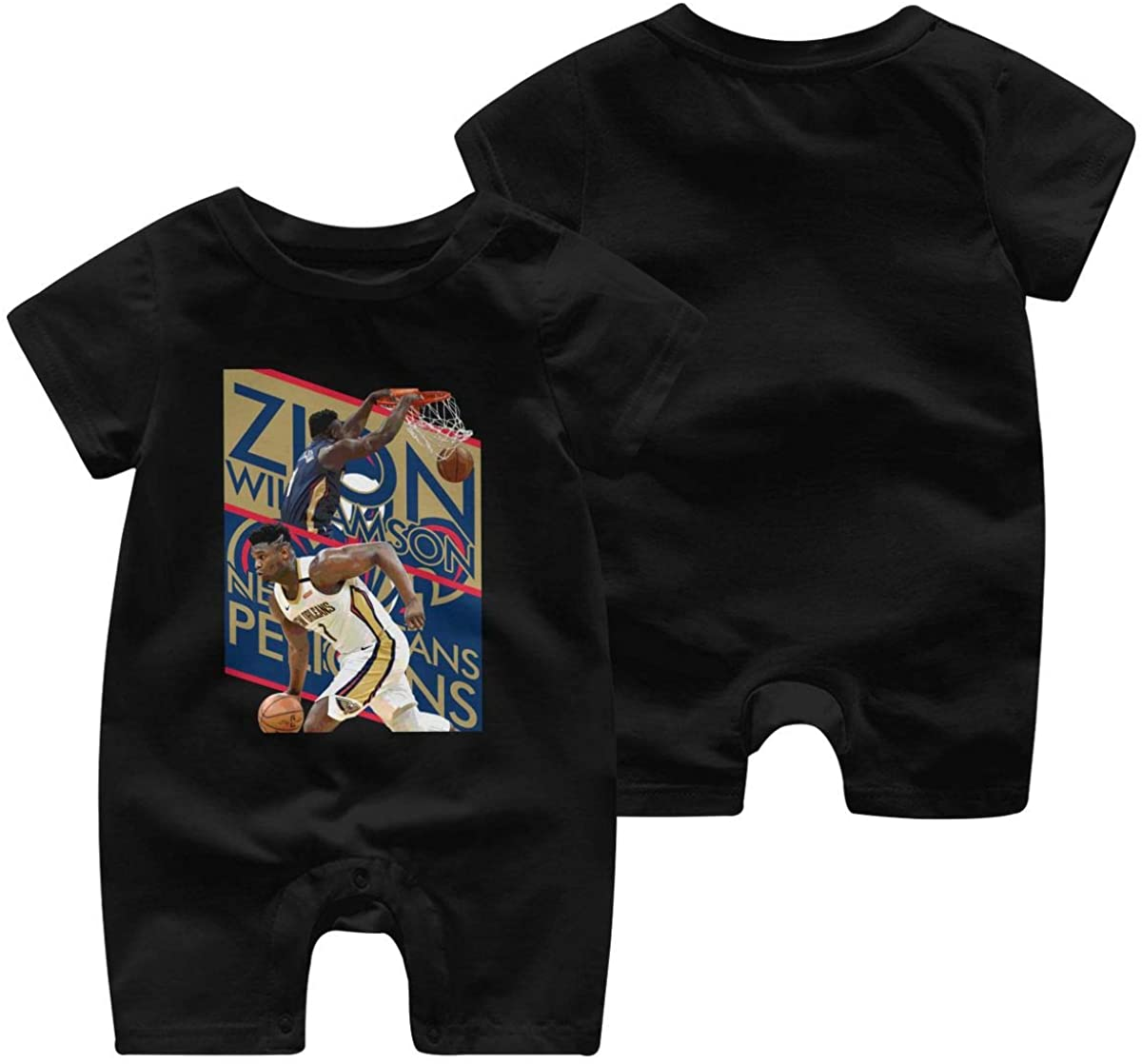 Duke Zion Baby Jumpsuit Infant Short Sleeve Kids Cotton Bodysuit