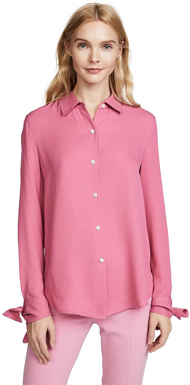 Theory Women's Tie Cuff Shirt 2