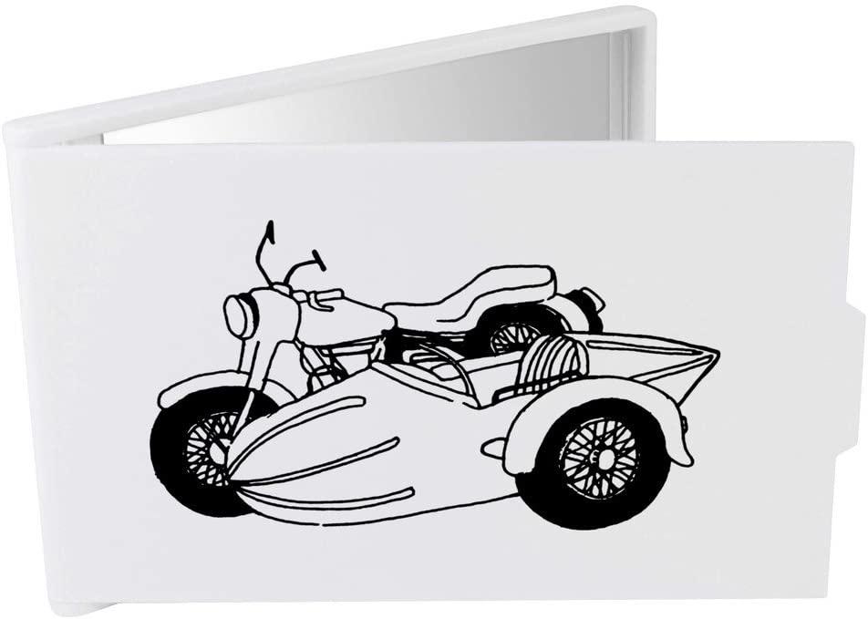 Azeeda 'Motorcycle Side Car' Compact / Travel / Pocket Makeup Mirror (CM00013759)