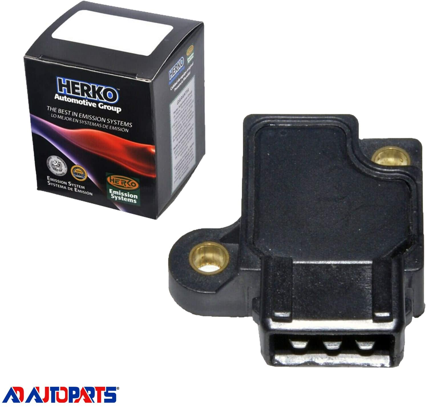 AD Auto Parts Ignition Control Module HLX046 J121 For Mitsubishi Plymouth Dodge 87-00