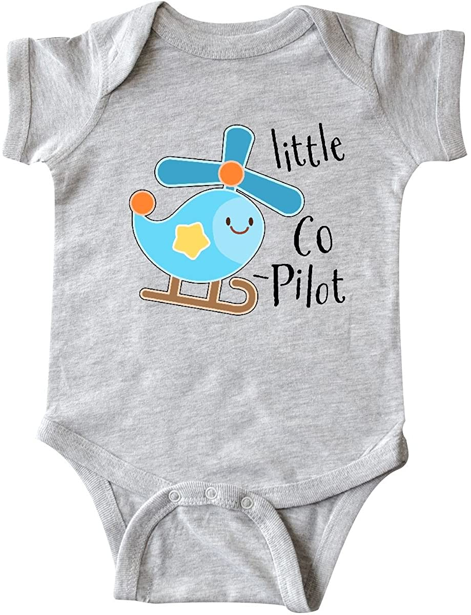 inktastic Little Co-Pilot- Cute Helicopter Infant Creeper