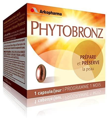 Arkopharma Phytobronz Sun-Preparing Capsules X30
