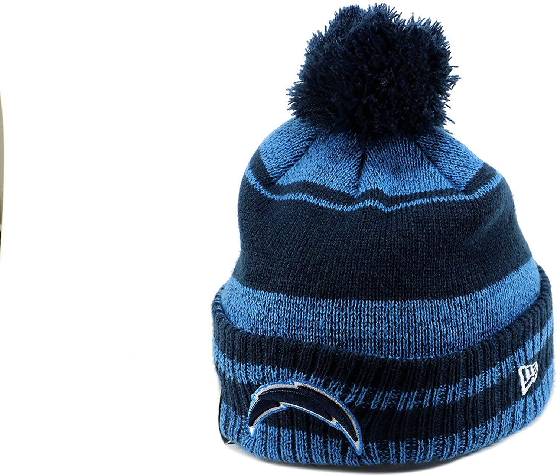 New Era NFL Unisex-Adult NFL Glacial Pom Cuff Knit