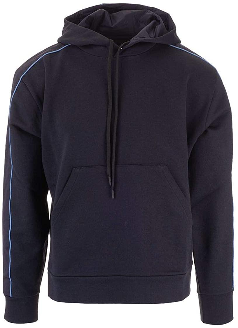 Prada Luxury Fashion Mens SJN247S1921SRGF0YSY Blue Sweatshirt | Fall Winter 19