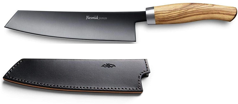Nesmuk Janus Chef Knife | Olive Wood