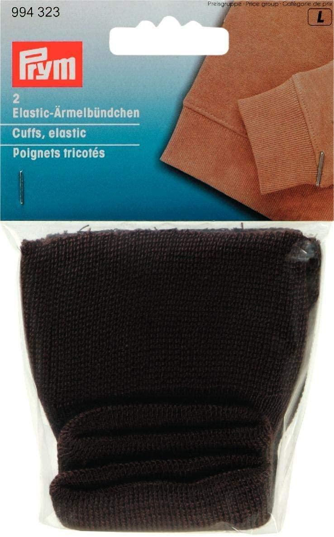 Prym 994323 Elastic Cuffs Brown, 2 x 1 x 1 cm