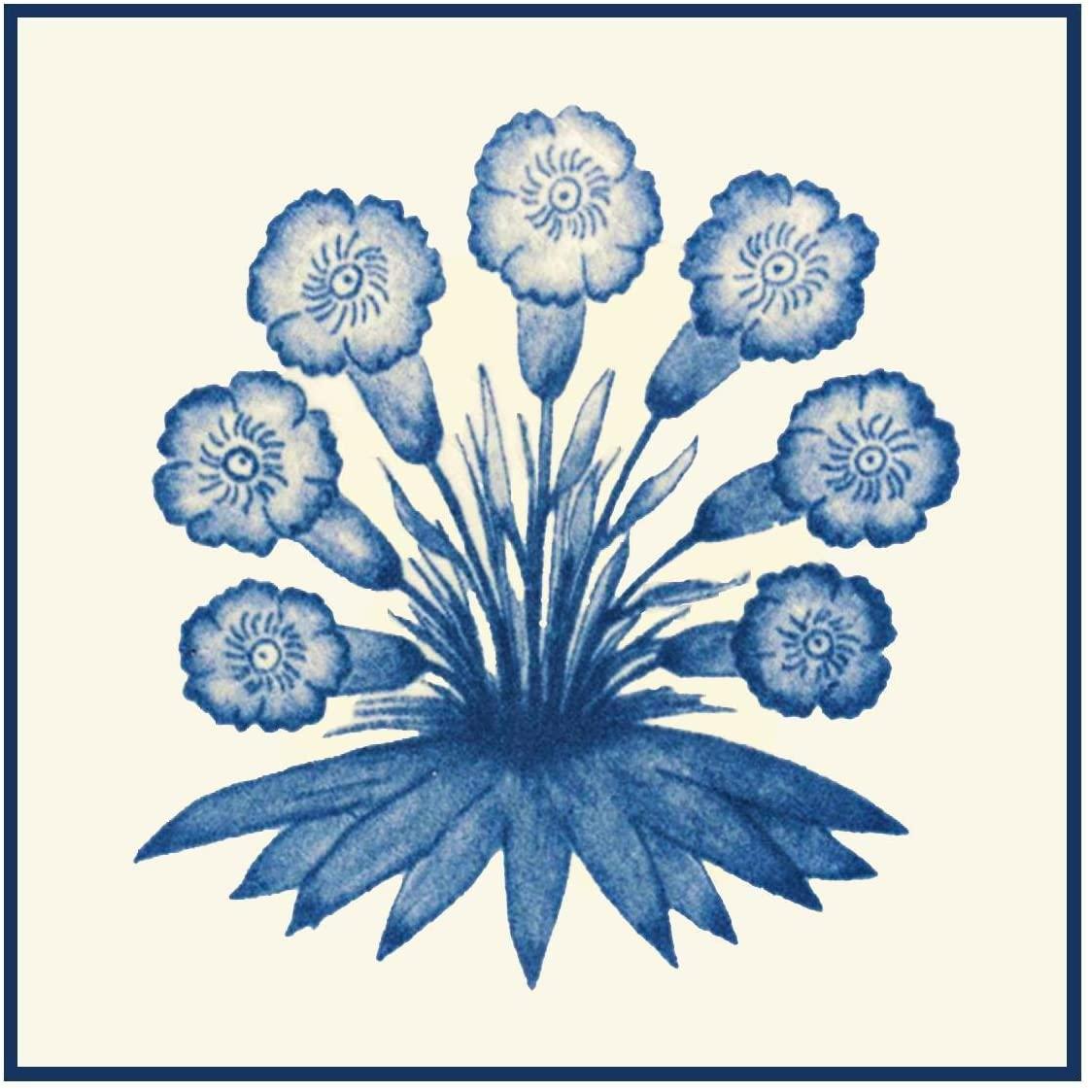 Orenco Originals Arts Crafts Primrose Design William Morris Design Counted Cross Stitch Pattern
