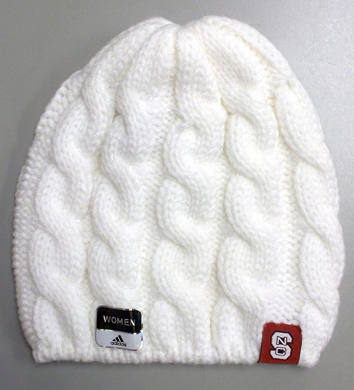 adidas North Carolina State University Wolfpack Braided Knit HAT - Women - K556W