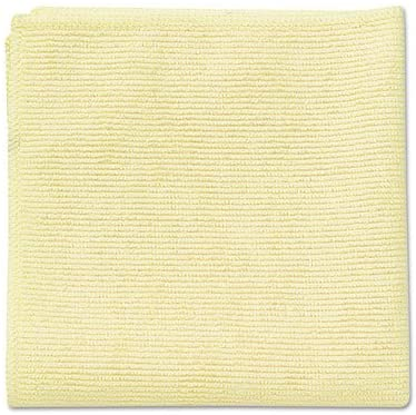 Microfiber Cleaning Cloths, 16 X 16, Yellow