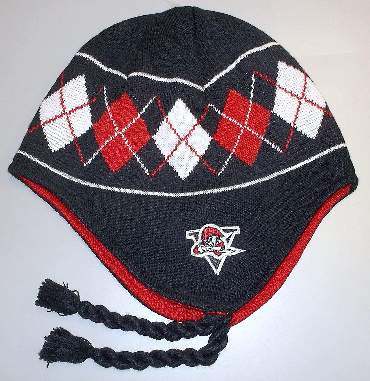 Reebok QMJHL Drummondville Voltiguers Knit Hat with Braids - Adult OSFA