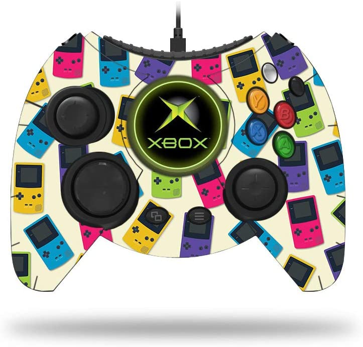 MightySkins Skin Compatible with Microsoft Xbox One Hyperkin Duke Controller - Game Kid Color Tile | Protective, Durable, and Unique Vinyl wrap Cover | Easy to Apply and Remove | Made in The USA