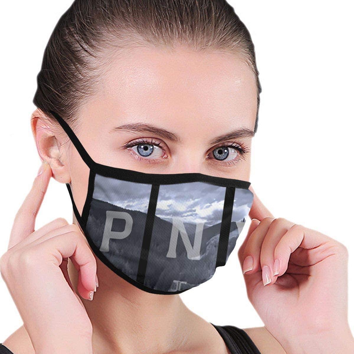 Pnw Unisex Fashion Face Bandanas Head Band Wears Scarf Face Tube Neck Scarf