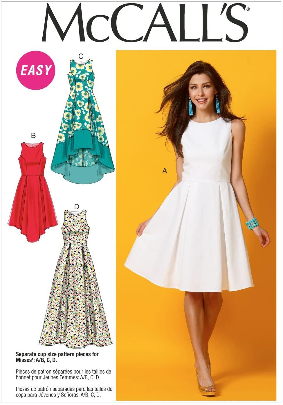 McCall Pattern Company M6953 Misses' Dresses, Size E5