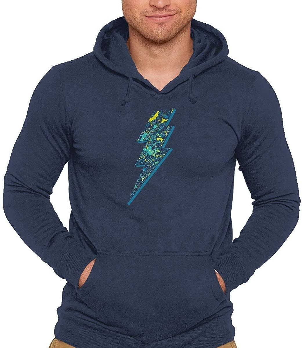TeeFury Electric Paint - Unisex Pullover Sweatshirt