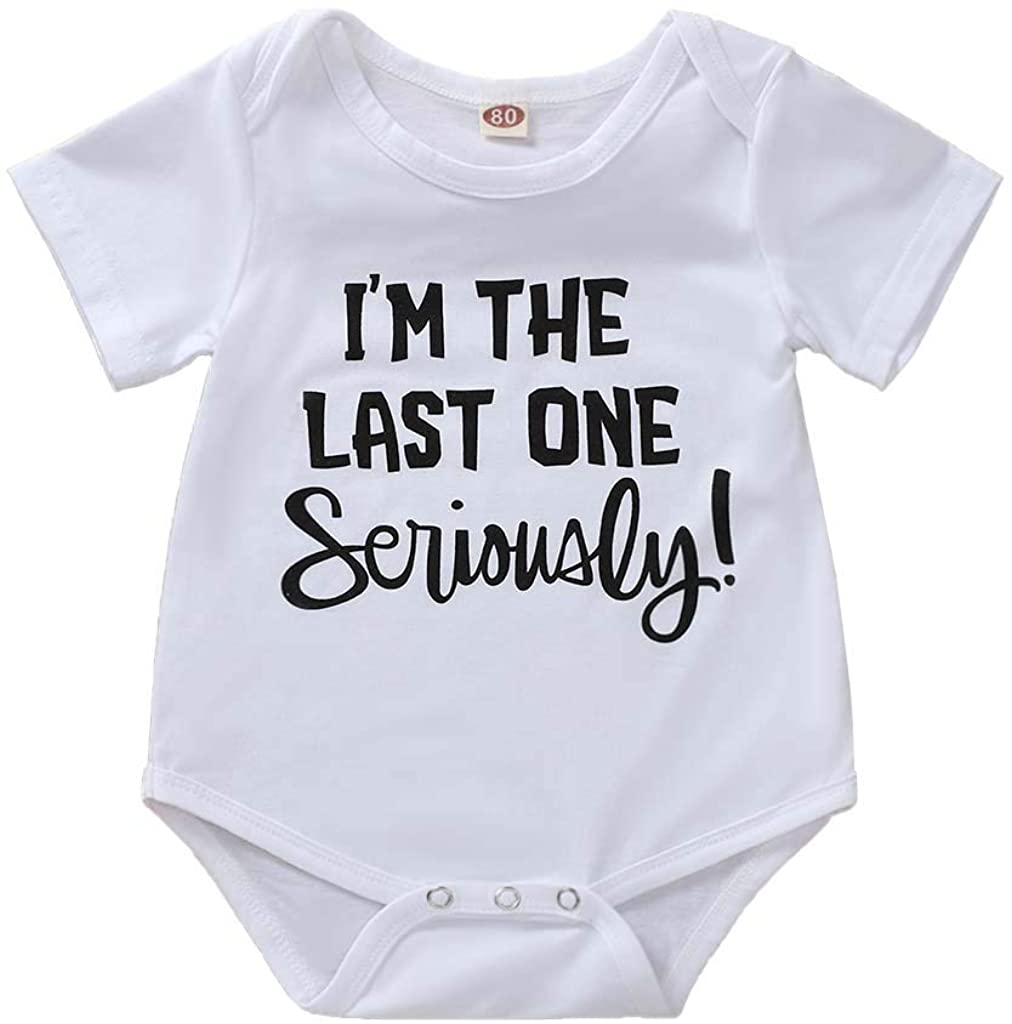 LYSMuch Newborn Baby Boys Girls Romper Cute Funny Bodysuit Infant Jumpsuit Outfit Clothes