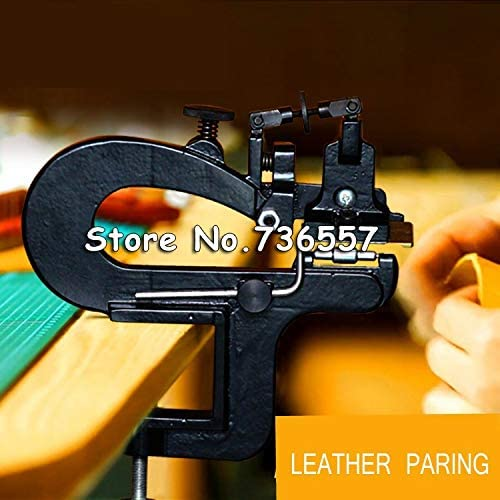 Clips Leather paring Machine/Leather Edge Skiving Machine/Leather Splitter/Leather Skiver Vegetable Tanning Scrape Thin Tool