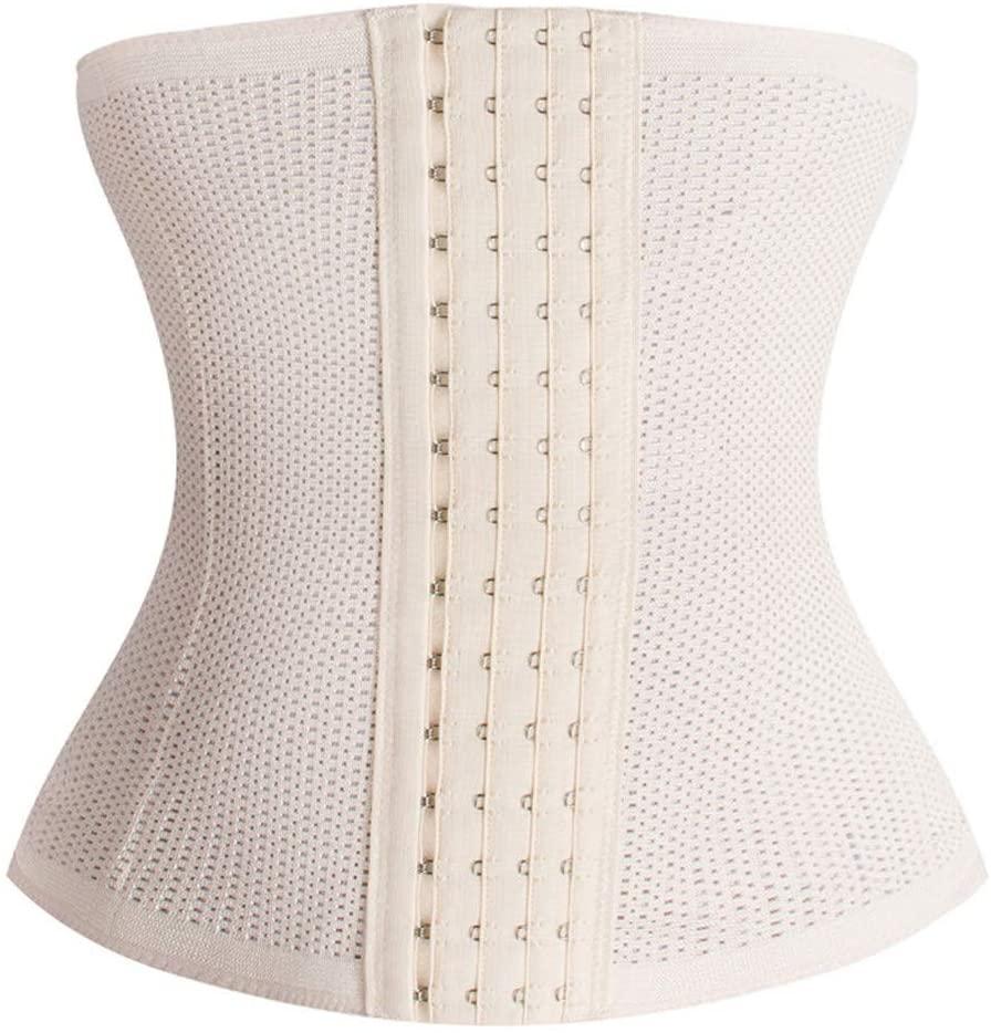 Honestyivan Women's Hollow Breathable Cincher Belt Shapewear Tummy Control Waist Trainer Slimmer Body Shaper