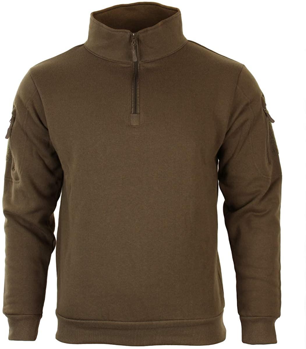 Mil-Tec Sweatshirt with Zipper