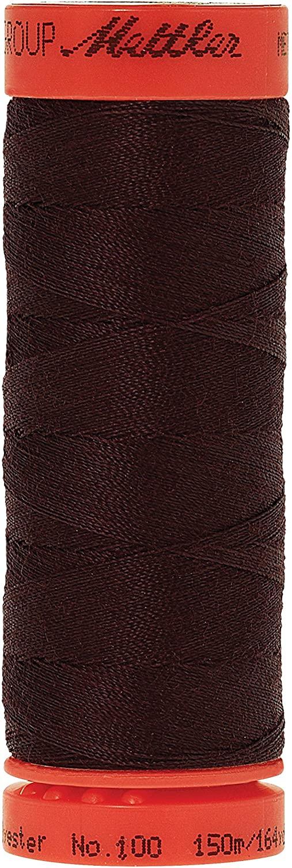 Mettler Metrosene 100% Core Spun Polyester Thread, 165 yd, Mahogany